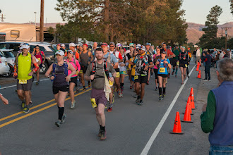 Photo: Start of 50 km run; Jemez Mountain Trail Runs