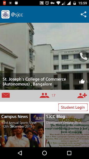 St.Joseph's  CollegeofCommerce Aplicaciones (apk) descarga gratuita para Android/PC/Windows screenshot