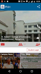 St.Joseph's  CollegeofCommerce- screenshot thumbnail
