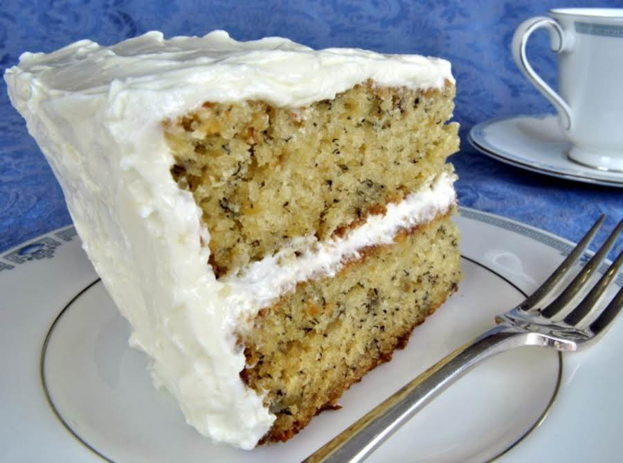 Banana Cake With Buttercream Frosting Recipe Just A Pinch Recipes