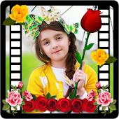 Flower & Roses Photo Frame