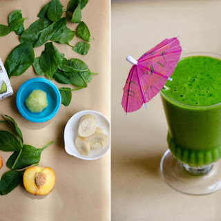 Tropical Paradise Green Smoothie.