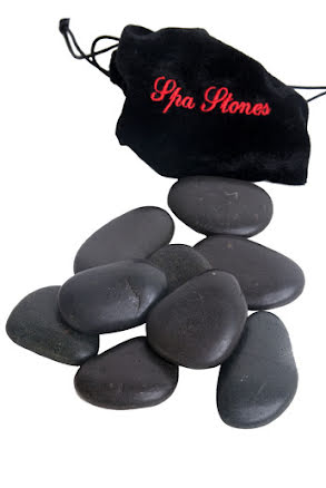 Massagestenar, hot stone
