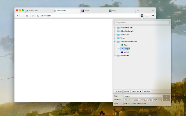 Bookmark Manager and Viewer