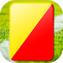 red yellow card icon