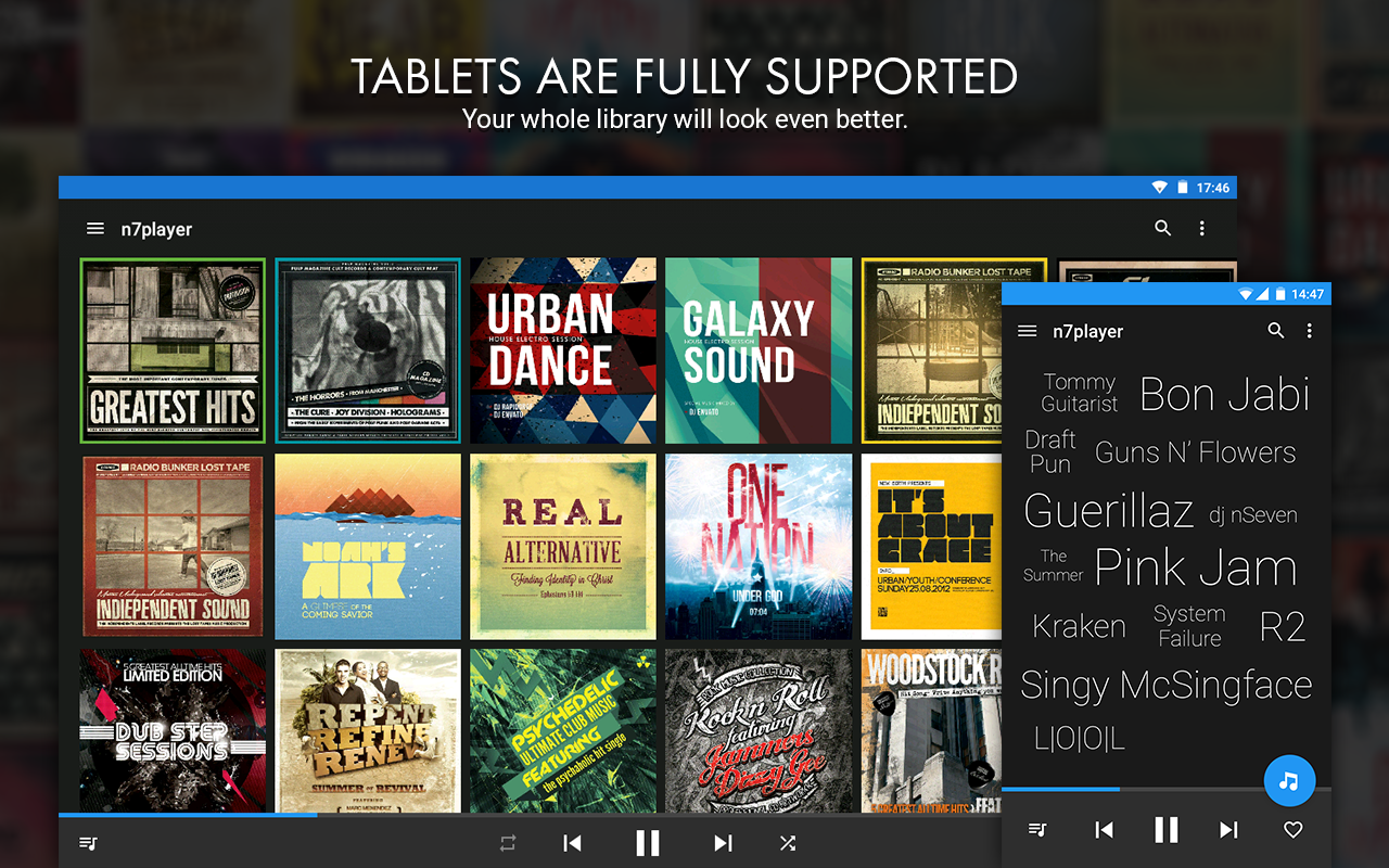 n7player Music Player- screenshot