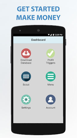 Scoutly (Formerly FBAScan) Screenshot