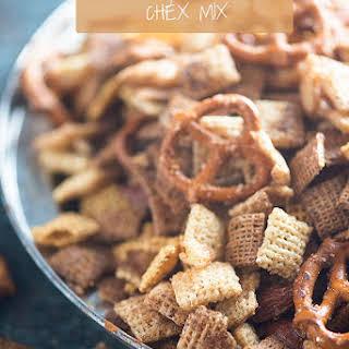 Cinnamon Sugar Chex Mix.