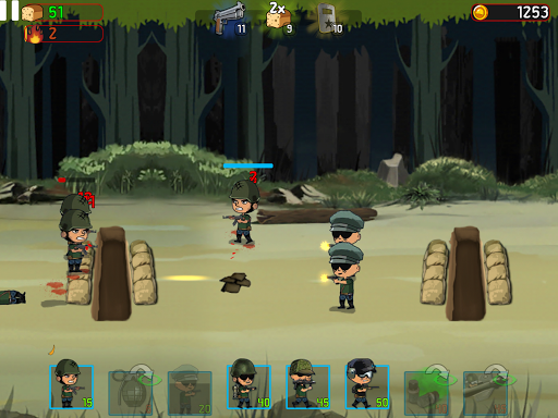 War Troops: Military Strategy Game for Free  screenshots 10