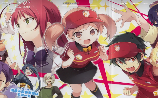 The Devil Is A Part Timer Wallpapers New Tab