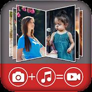 Image to video movie maker APK icon