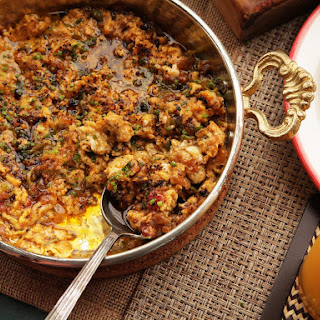Menemen (Turkish-Style Scrambled Eggs With Tomatoes, Onions, and Chilies).