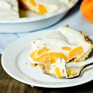 Icebox Peach Pie.