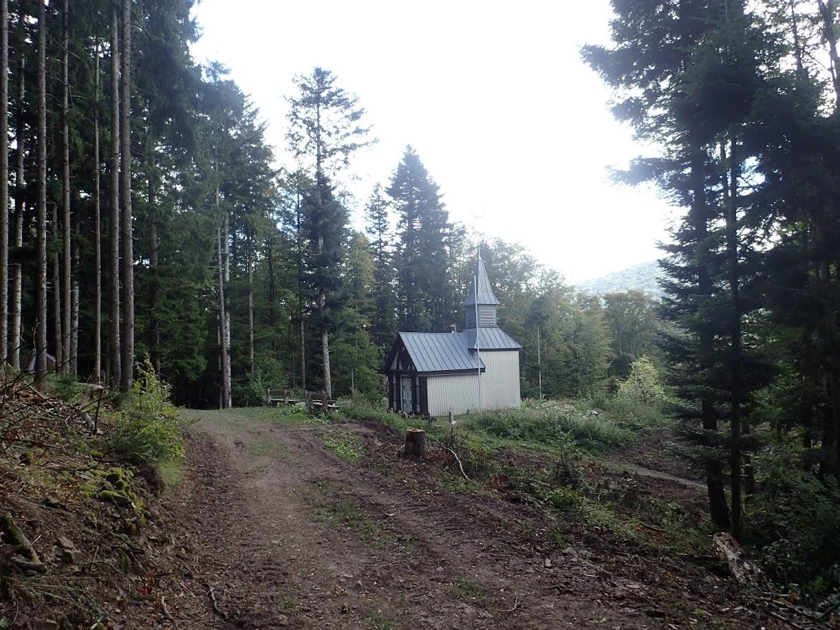La chapelle Sicurani, consolidée