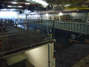 Photo: Flooded dock - almost completely filled with a mexifloat - from the docking control position