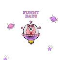 화이트 우주 외계인 카톡 테마 icon