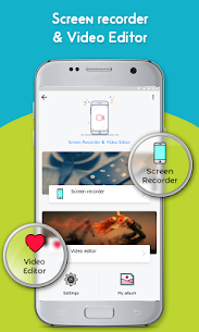 Screen Recorder & Video Editor :- No Root Apk  Download For Android 1