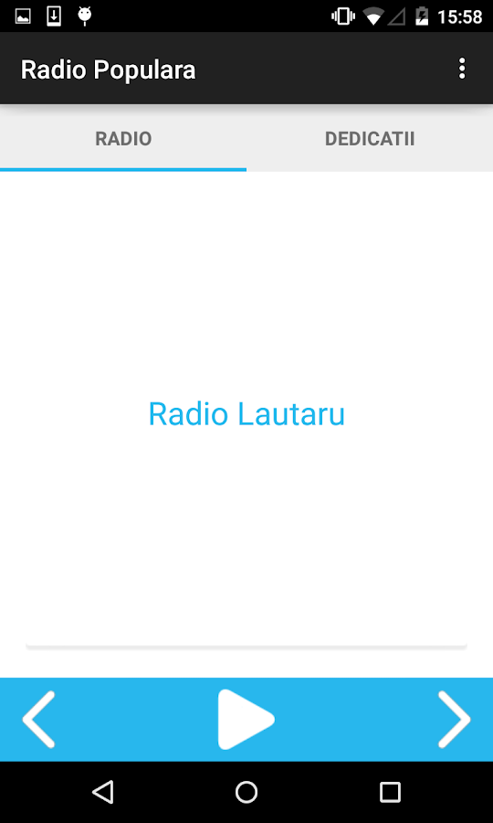 Radio Muzica Populara - screenshot