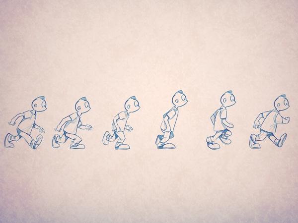 Как нарисовать движение и действия., изображение №13