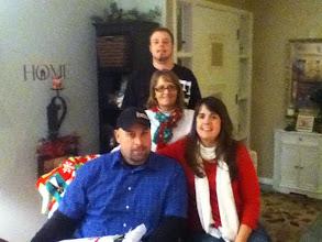 Photo: Family at Christmas 2012