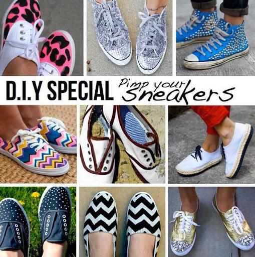 DIY Sneakers Design Ideas