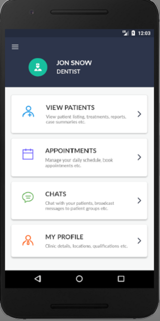 Navia Doctors: Patient Engagement Platform- screenshot