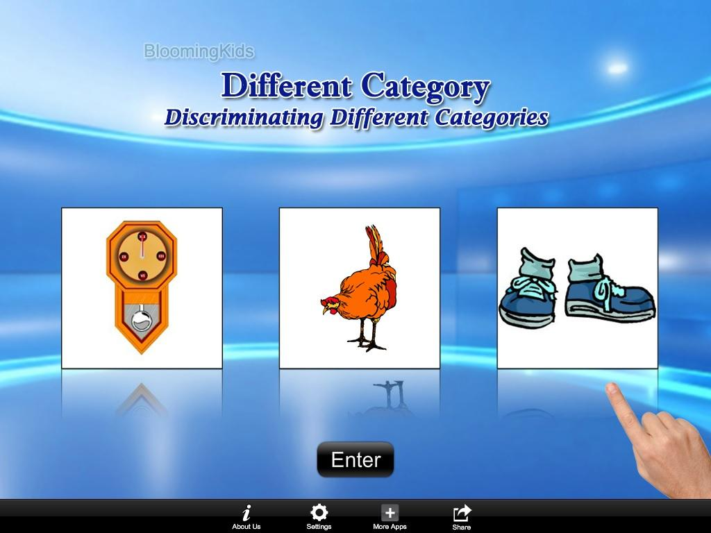 Discrim Diff Categories Lite- screenshot