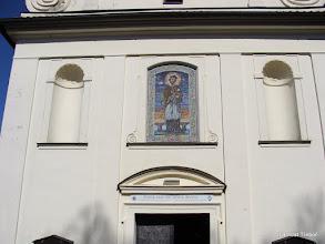 Photo: Klokoty, poutní kostel Nanebevzetí Panny Marie, Brána milosrdenství