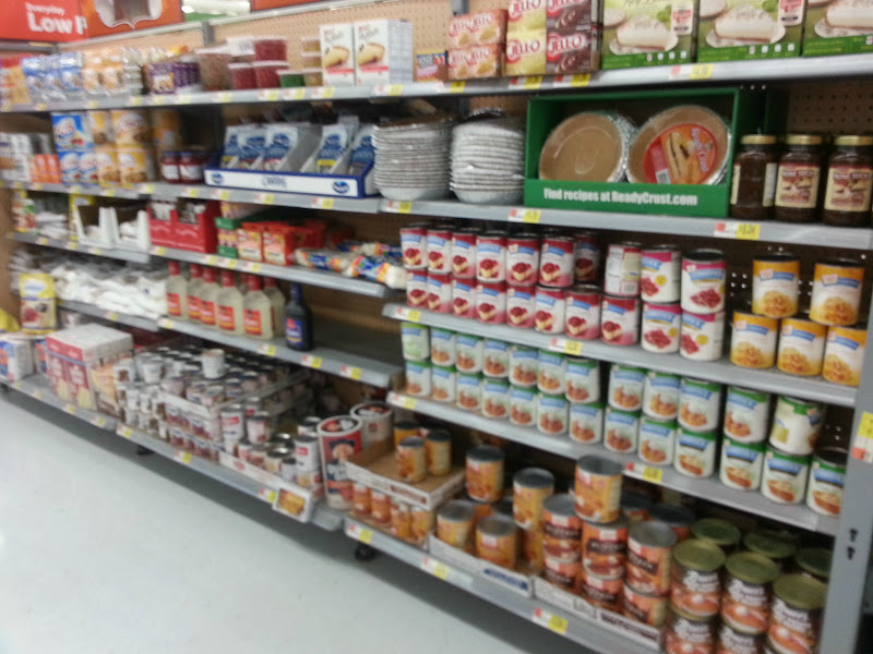 Photo: I passed by all of the Fall baking ingredients they had out in the center isle. It reminded me of how close Thanksigiving is too.