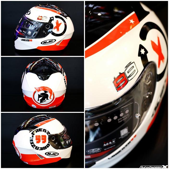 หมวกกันน็อค HJC IS 17 Lorenzo Angle 99 Original 100% auto2speed A2S thailand BKK