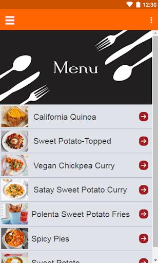 Sweet Potato Recipes 1.0 screenshots 1
