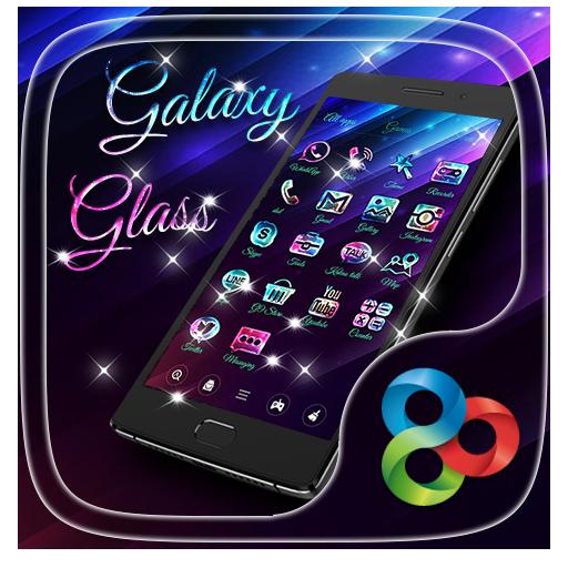 Galaxy Glass Go Launcher Theme 個人化 App LOGO-APP開箱王