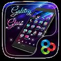 Galaxy Glass Go Launcher Theme icon