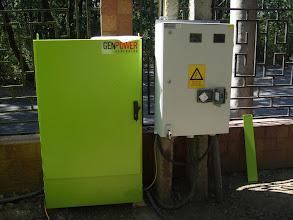 Photo: Generator Volvo, 167 kVA, Complex Stejarul - Padurea Garboavele, Galati
