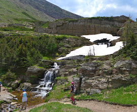 Photo: Waterfalls between two of the Carthew Lakes