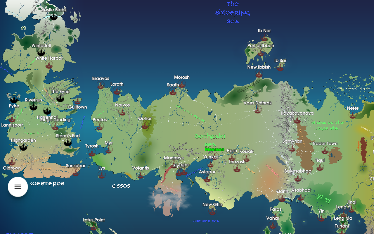 Map for Game of Thrones- screenshot