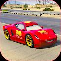 Splashy Superhero Vertigo Racing : Lightning Car icon