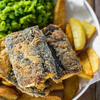 Vegan Fish and Chips.