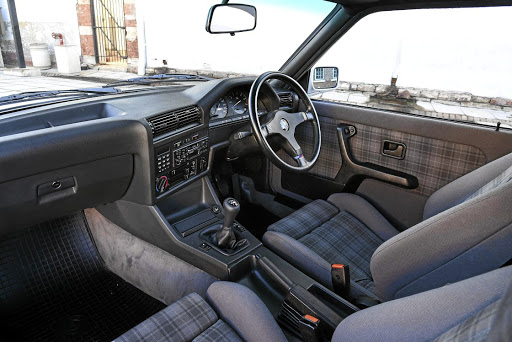 The interior has been perfectly restored. Picture: BMW