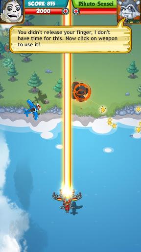 PANDA FIGHTER PLANE: AIR COMBAT 2020 GAMES android2mod screenshots 4