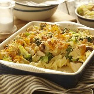 Chicken Noodle Broccoli Bake