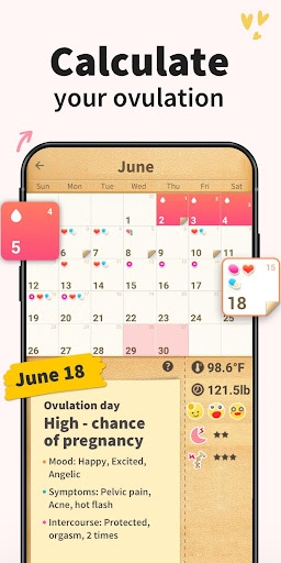 Period Tracker - Period Calendar Ovulation Tracker 1.713.216.GP Screenshots 3