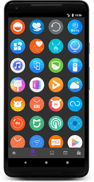 Oil Pixel - Icon Pack Screenshot Image