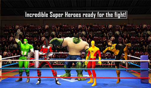 Incredible Monster Super Ring Battle Heroes game (apk) free download for Android/PC/Windows screenshot