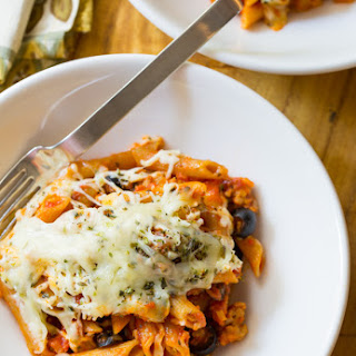 Supreme Pizza Baked Ziti