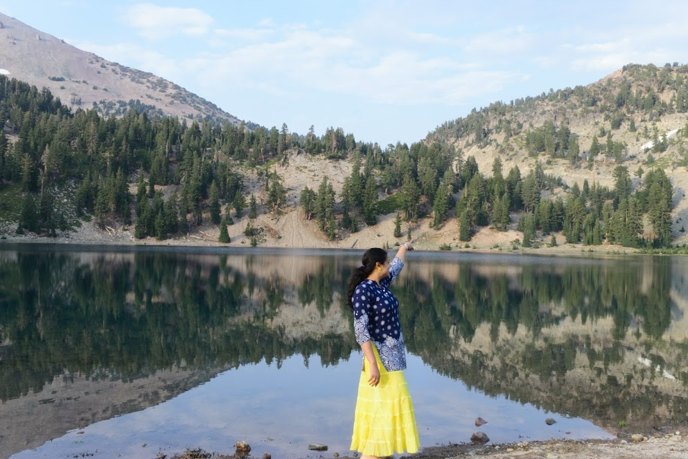 Helen Lake in last visit
