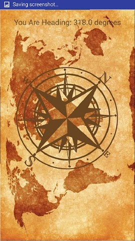 android Vintage Compass Screenshot 2