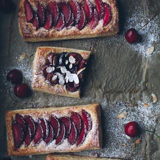 Easy Stone Fruit Tarts.