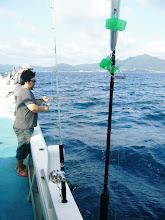 Photo: シゲヤマさん!釣りまくり!