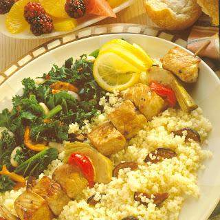 Mediterranean Pork Kabobs.